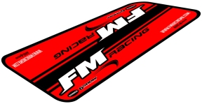 FM Race Mat | Fully customizable